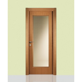 Porte interne in legno Leon 660 con vetro