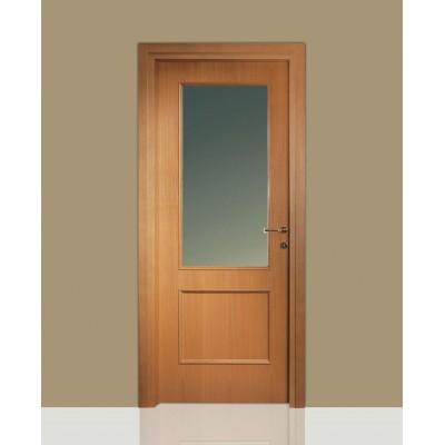 Porte interne in legno Leon 670 vetro e specchiatura - Civico14 ...