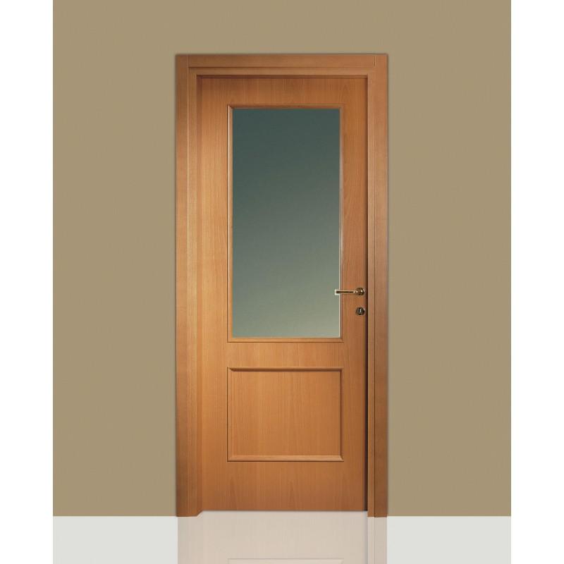 Porte interne in legno leon 670 vetro e specchiatura for Porte interne vetro