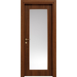 Porte interne Billy 610F in laminato pred. vetro