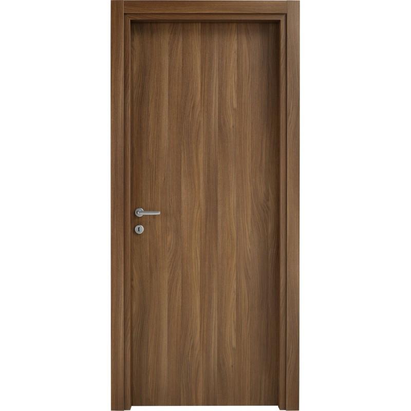 Porte interne in laminato liscio e poro aperto london 110 - Verniciare porte interne laminato ...