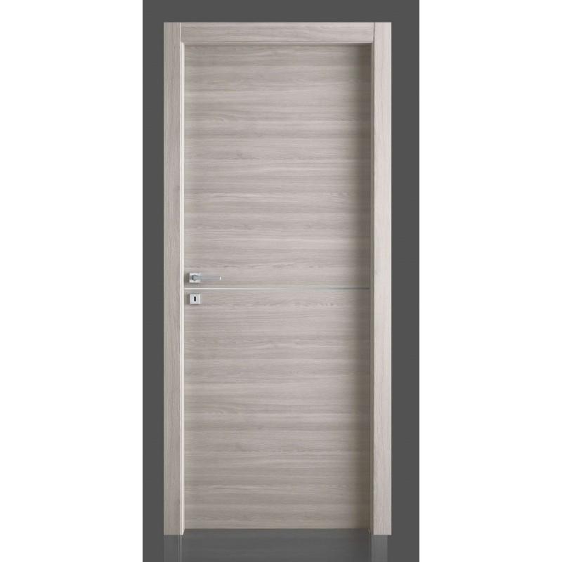 Le più belle porte in laminato con inserto in alluminio da civico14