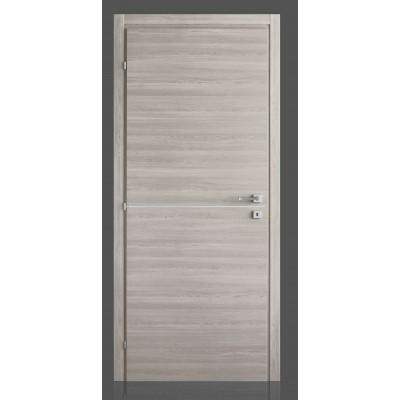 Porte interne in laminato con inserto in alluminio Simply FU