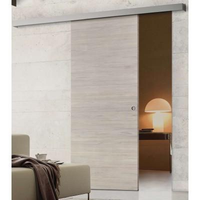 Porte interne in laminato scorrevole esterno muro Simply EM ...