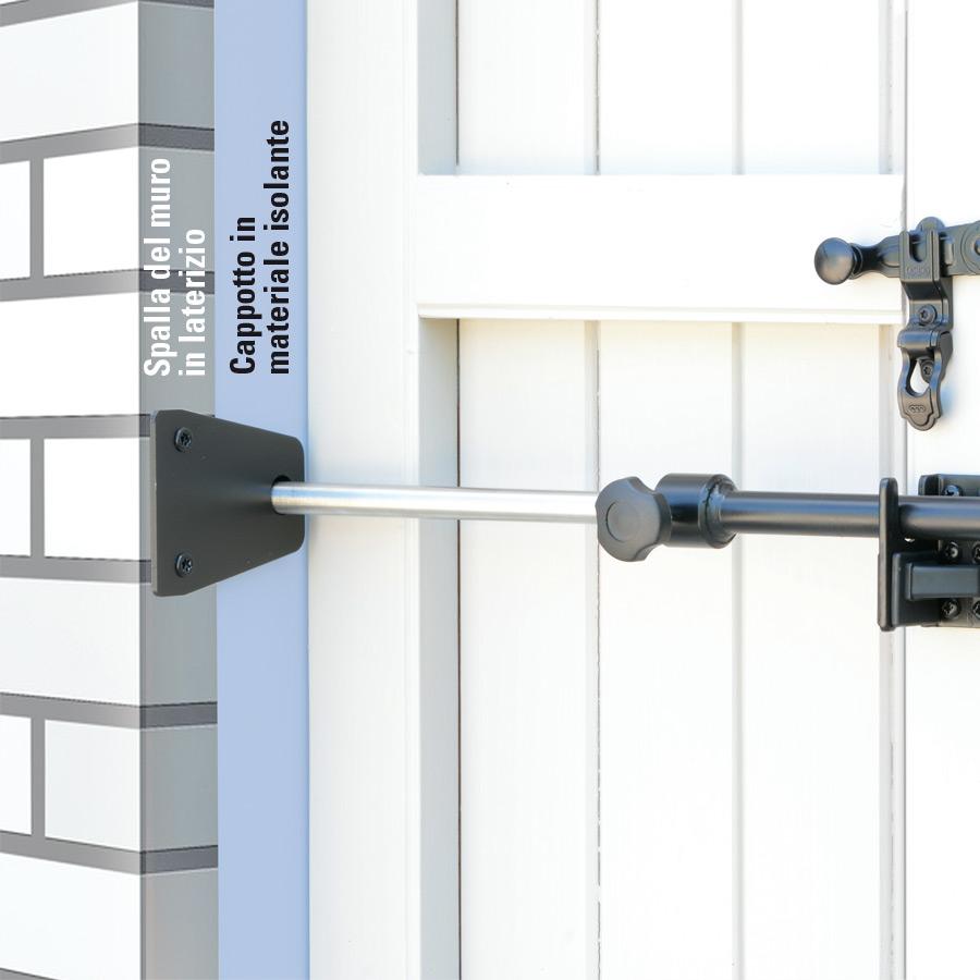 Barre E Catenacci Di Sicurezza Per Scuri Civico14 Porte