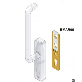 BLocco per maniglioni serramenti scorrevoli BMAR06 Disec