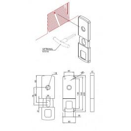 Protezione interna basculante MG815 Disec