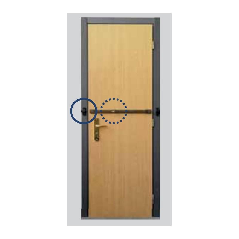 Spranga universale per porte ingrezzo viro 4008 la tua - Sbarra di sicurezza per porte ...