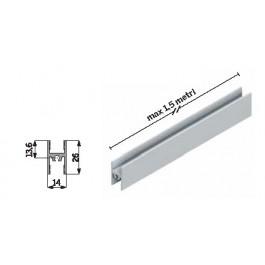 Profilo intermedio strutturale OML002  per ante Easy kit