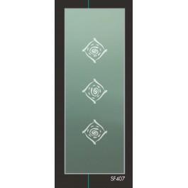 Vetro per satinato per porte interne SF407 3+3 mm