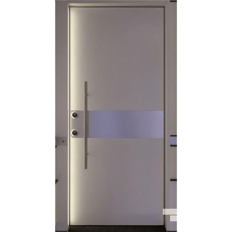 Porta blindata serie metallum mml01l pannelli con inserti - Maniglie x finestre ...