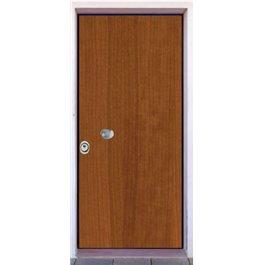 Porta Blindata serie Linea ciliegio